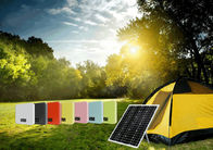 25W/50W Solar Powered Pole Lights , Solar Powered Led Lights For Camping Charging